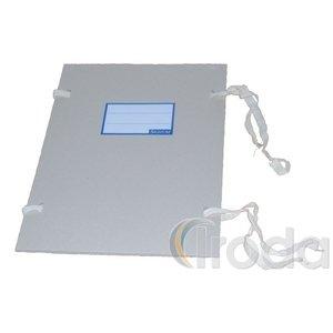 Szalagos irományfedél hajtókás A/4 1m szalag, natúr 1050g 20db/csomag