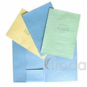 Pólyás dosszié (iratgyűjtő) A/4, kék pasztell