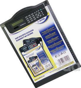 Felírótábla A4 számológéppel, fekete