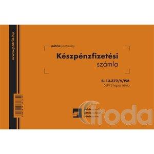 Kp.fiz.számla Pátr.B.13-372VPM