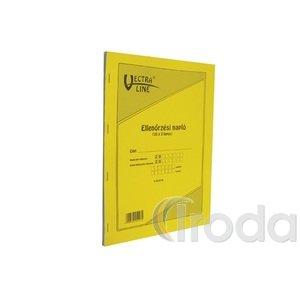 Ellenőrzési napló C.18-72V, A4, 25x3 lapos