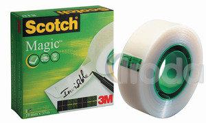 Ragasztószalag 3M Scotch 810 Magic Tape 12x33 dobozos