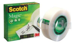 Ragasztószalag 3M Scotch 810 Magic Tape 19x33 dobozos