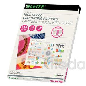 Lamináló fólia Leitz A4/125mic. 100db/csomag 74300002