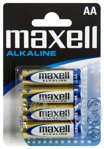 MAxell AA ceruza alkáli elem, 1,5V 4db/cs