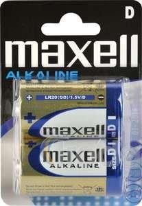 MAxell góliát alkáli elem, 1,5V LR20 2db/cs