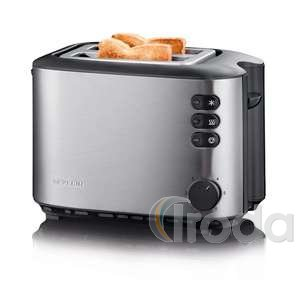 Severin AT2514 kenyérpirító inox 850W