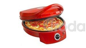 Bestron pizzasütő, piros, 27cm átmérő