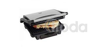Bestron panini grill 2x280x170mm, inox