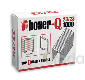 Tűzőkapocs ICO BOXER-Q 23/23 1000db/doboz