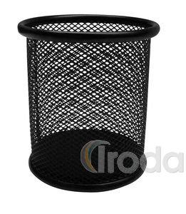 Tolltartó pohár fémhálós fekete