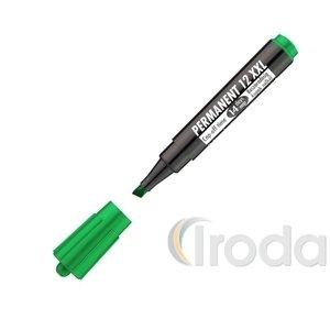 Marker alkoholos 12 XXL 1-4mm vágott zöld ICO