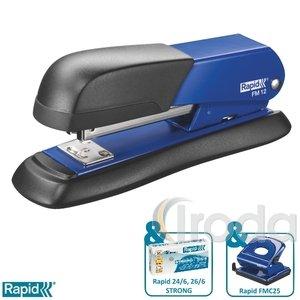Tűzőgép Rapid FM12 fém kék max. 25 laphoz 5000275