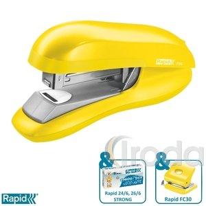 Tűzőgép Rapid F30 élénk sárga max. 30 laphoz 5000357