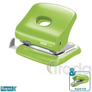 Lyukasztó Rapid FC30 élénk zöld max. 30 laphoz 5000361