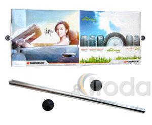 Thermostop autós napellenző, 120x50cm, ezüst, kihúzható